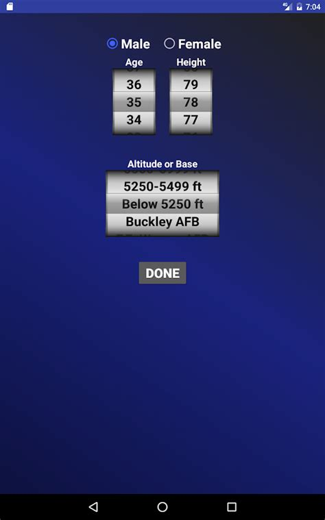 test calculator air pt test calculator android apps on play