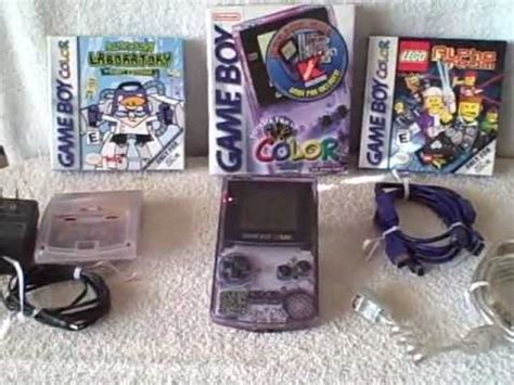 atomic purple gameboy color nintendo gameboy boy color atomic purple with