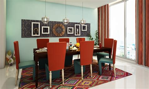indian themed dining room buy modern ethnic dining room online in india livspace com
