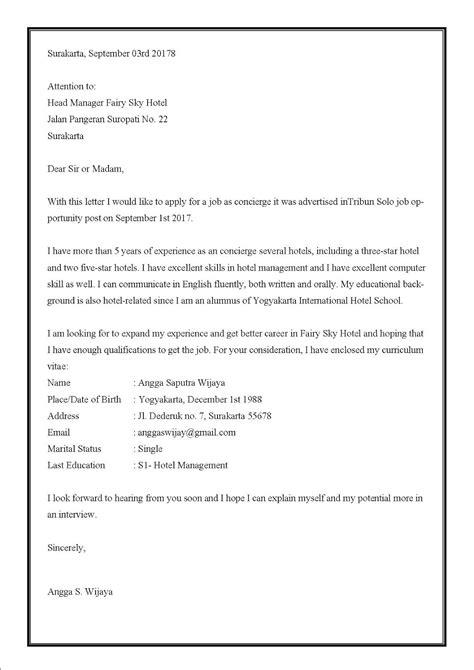 11+ Contoh Surat Lamaran Kerja via Email Lengkap untuk