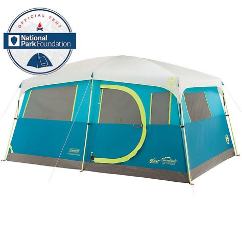 Tent Closet by Coleman 8 Person Tenaya Lake Fast Pitch Cabin Tent With