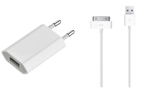 chargeur pour iphone apple chargeur secteur usb avec cable 30 pin vers usb chargeura1400