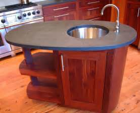 oval kitchen islands oval custom wood kitchen island kitchen islands and