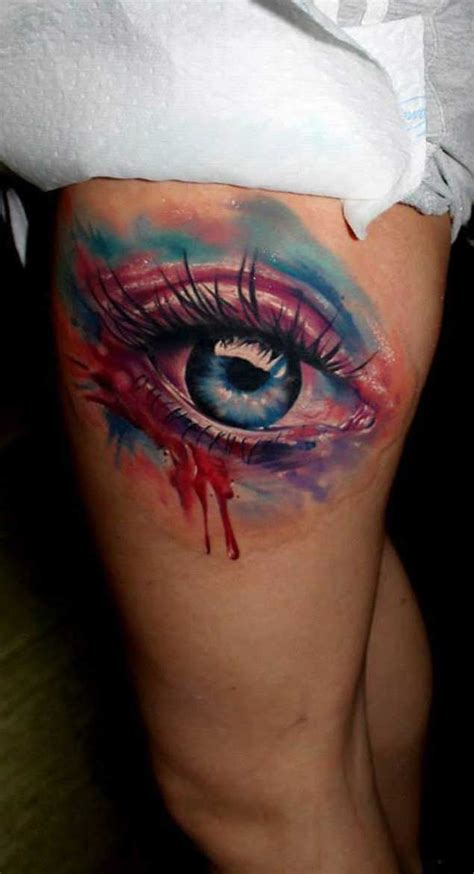 eyeball tattoo colors 34 astonishingly beautiful eyeball tattoos tattooblend