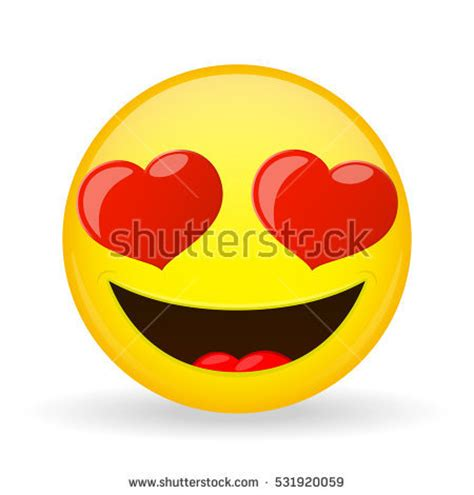 Imagenes De Smile Of Love | emoji love emotion happiness amorously smiling stock