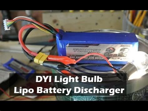 what is lipo light light lipo battery discharger youtube