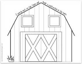 barn template relentlessly deceptively educational