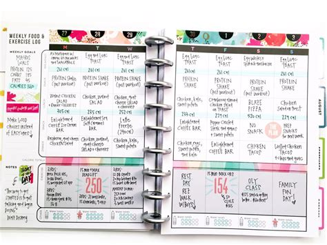 planner layout two weeks in the happy planner fitness planner me my big ideas