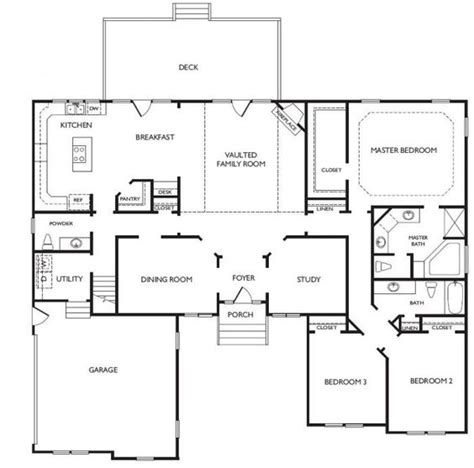 unique open floor plans one story houses virginia beach and open floor plans on