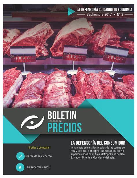 maxi despensa zona 1 bolet 237 n semanal de precios carne de res y cerdo by