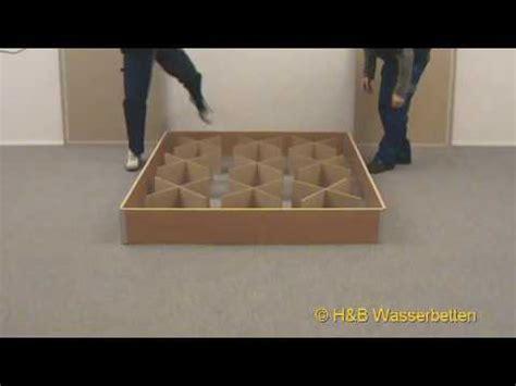Wasserbetten Sockel by Aufbau Wasserbett Sockel