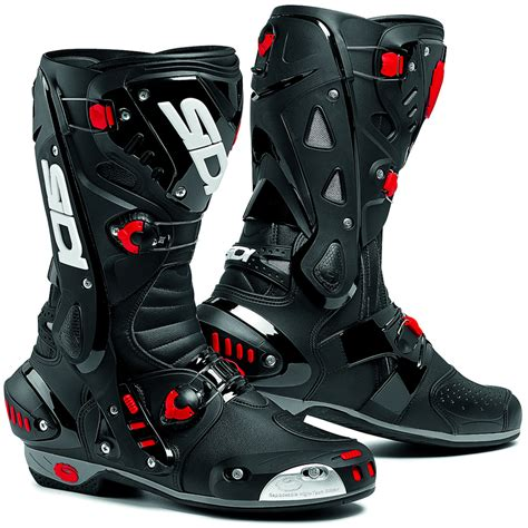motorcycle road boots sidi vortice vented race track sports bike motorcycle