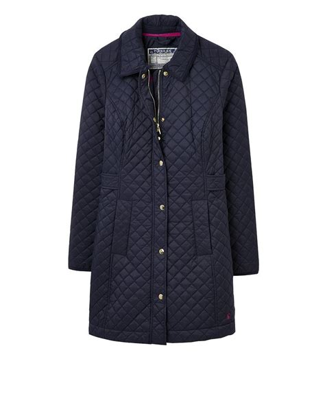 Fitted Quilted Jacket by Joules Fairhurst Longline Fitted Quilted Jacket Aw2015