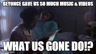 The Color Purple Meme - beyonce drops new album imgflip