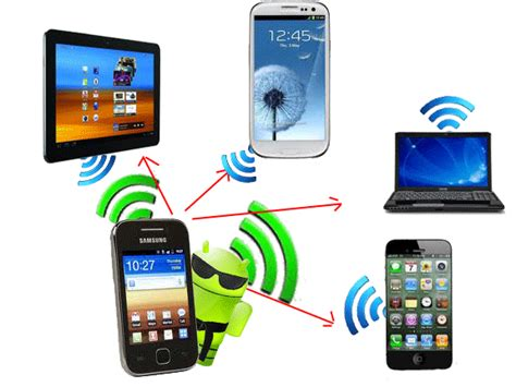 use android phone as use your android phone as a portable wi fi hotspot rumy it tips