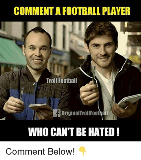 Troll Football Memes - 25 best memes about football player football player memes