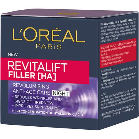 L Oreal Revitalift Filler best deals on l oreal revitalift filler ha revolumizing