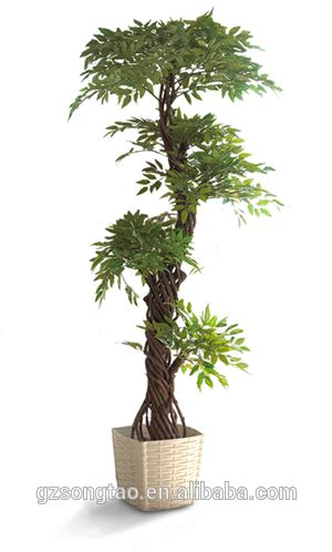 indoor japanese plants artificial japanese fruticosa tree indoor plant for home