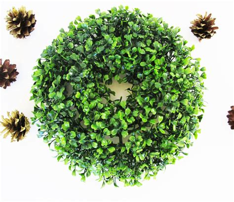 10 inch artificial boxwood wreaths sale mini boxwood wreath artificial wreaths high quanlity