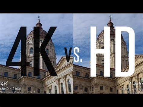 imagenes 4k vs full hd 4k vs hd side by side comparisons youtube