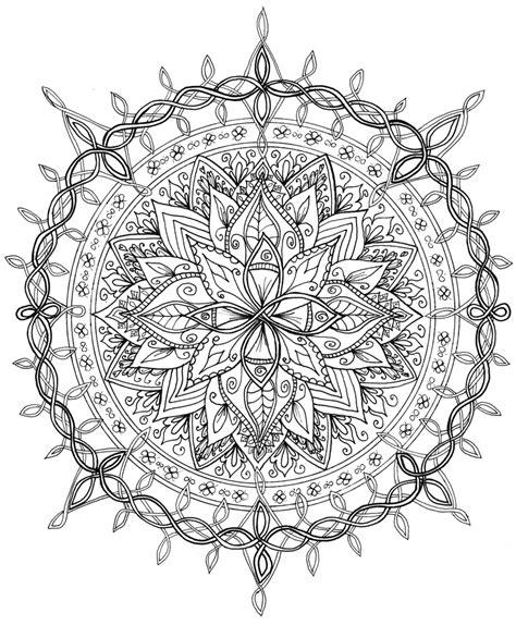 mandala tattoo coloring pages celtic knotwork mandala by welshpixie on deviantart