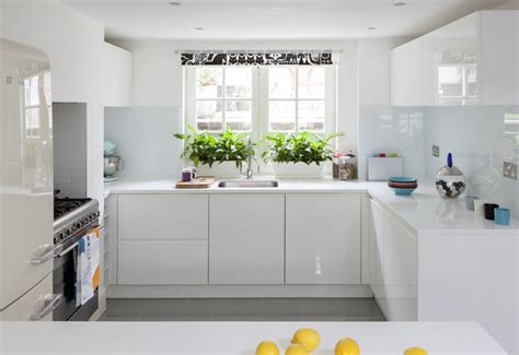 Pictures Of Small Kitchens With White Cabinets - kitchen makeover quirky and fun white kitchen amberth interior design and lifestyle blog