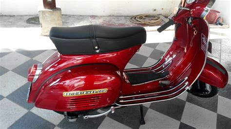 modifikasi vespa original vespa bajaj 77 paint by kracht auto work