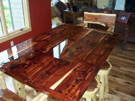 Cedar Bar Top by Blank Page
