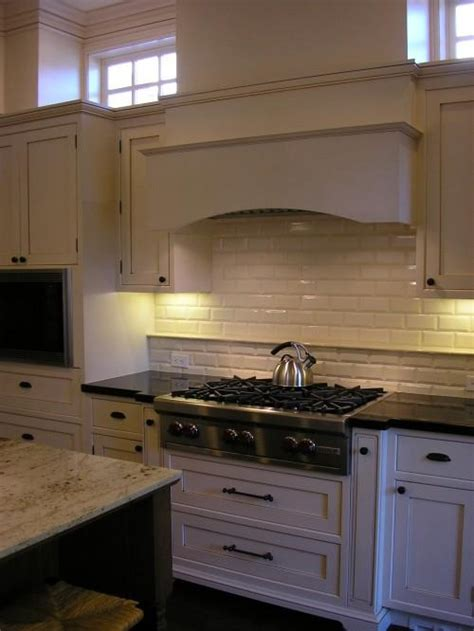 beveled tile backsplash beveled subway tile backsplash transitional kitchen