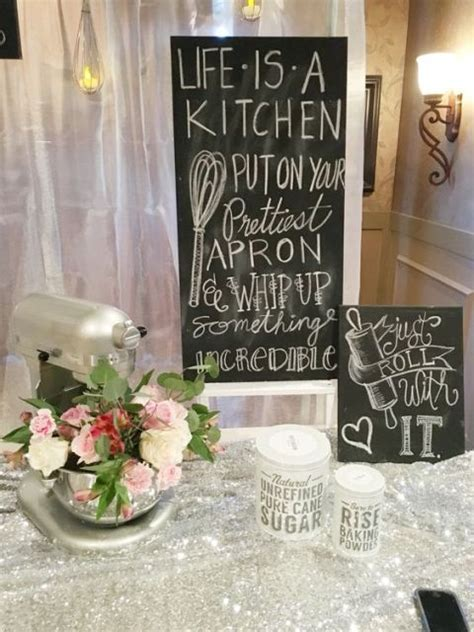 kitchen themed bridal shower ideas 22 cooking themed bridal shower ideas weddingomania