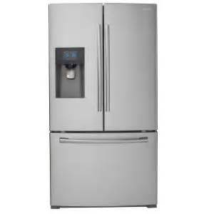 home depot refrigerators samsung samsung 24 6 cu ft door refrigerator in stainless