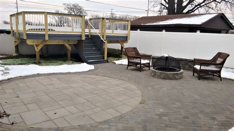 Patio Bridgeview by Archadeck Of Chicagoland Low Maintenance Deck Paver