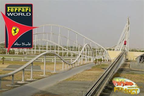 Ferrari Abu Dhabi Achterbahn by Vereinigte Arabische Emirate Und Oman Travel Photography