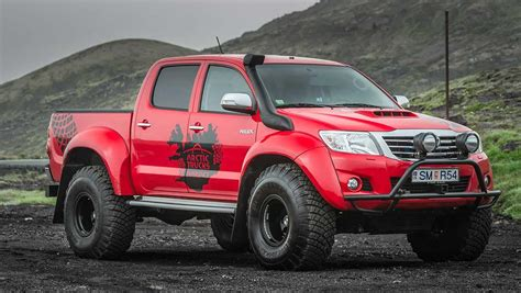 toyota hilux arctic toyota hilux monsters in the arctic car news carsguide