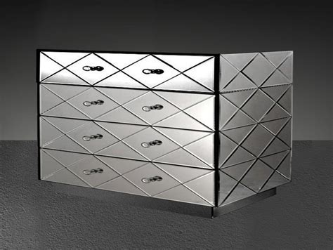 modern mirrored furniture segovia modern mirrored bedroom furniture dresser