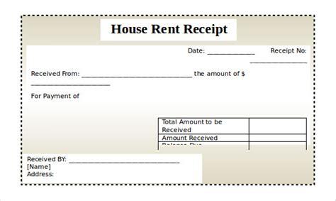rental receipt template   word excel  documents   premium templates