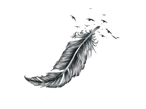 small white feather tattoo eagle feather designs best image konpax 2018