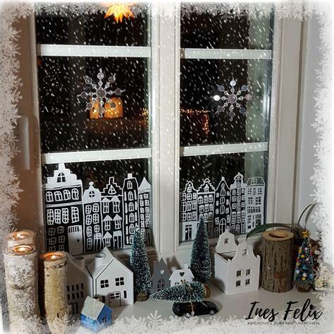 Fensterdekoration Weihnachten Mit Vorlagebö by Ines Felix Kreatives Zum Nachmachen Winter