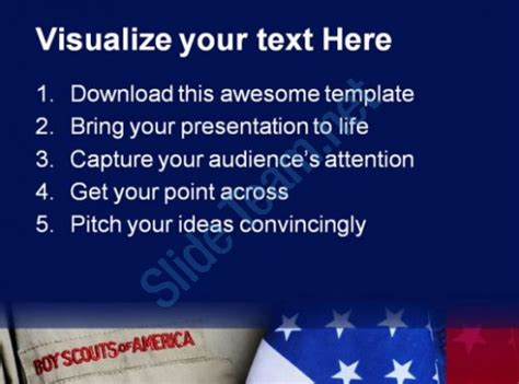 eagle scout powerpoint template cub scout powerpoint template the highest quality