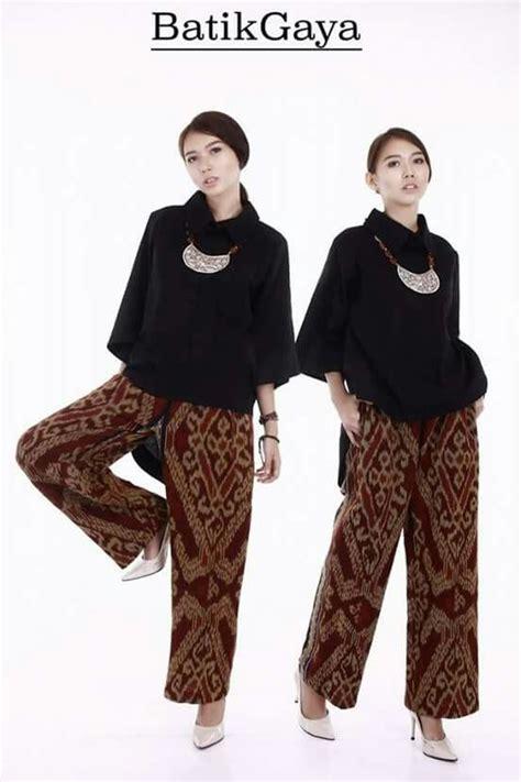 Celana Motif C celana motif ikat etnik kebaya kebaya