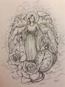 45 angel tattoos designs and samples