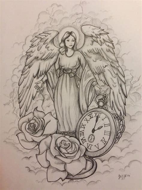 angel and rose tattoo designs 45 tattoos designs and sles
