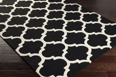 Black And White Accent Rugs | artistic weavers pollack stella awah2028 black white area