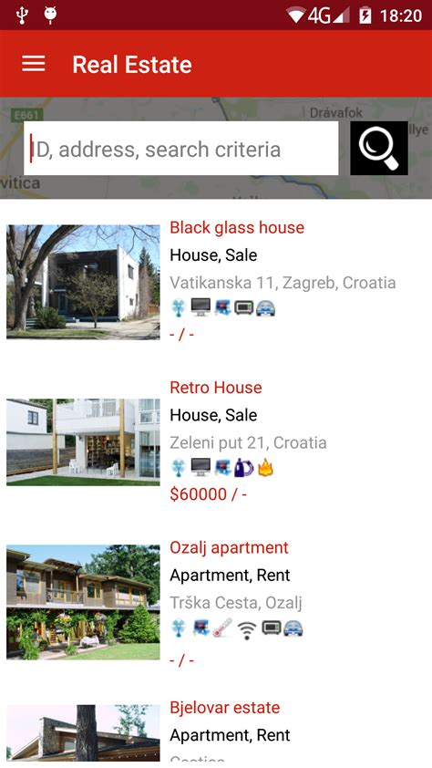 real android real estate android app by sanljiljan codecanyon