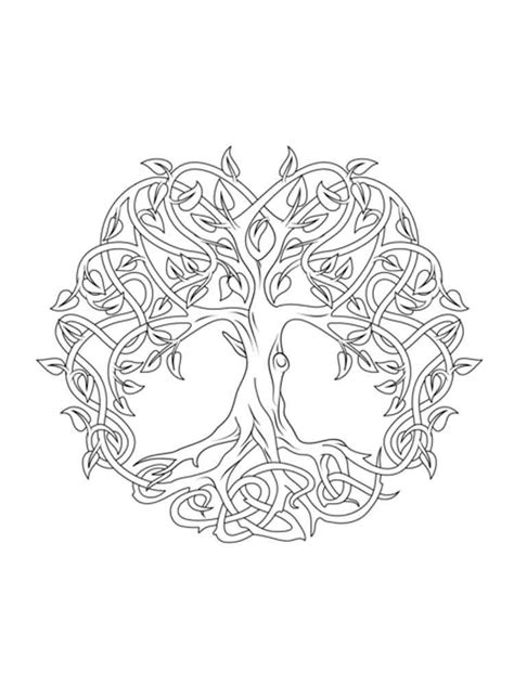 coloring pages for adults celtic celtic knot coloring pages for adults free printable