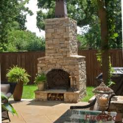 kamin terrasse outdoor fireplace traditional patio birmingham by