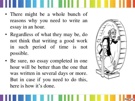 Write An Essay In An Hour by Write An Essay In An Hour Writefiction581 Web Fc2