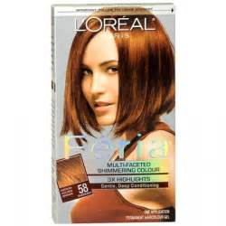 feria hair color loreal feria color 58 bronze shimmer pictures picture