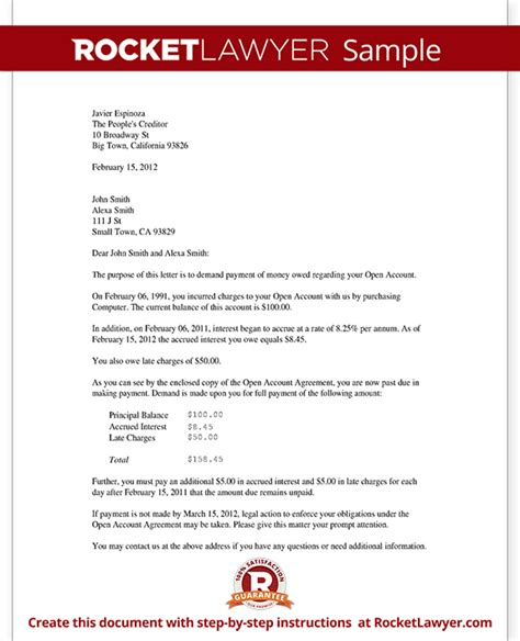 Hotel Payment Reminder Letter 30 Days Past Due Letter Collections Letter Reminder