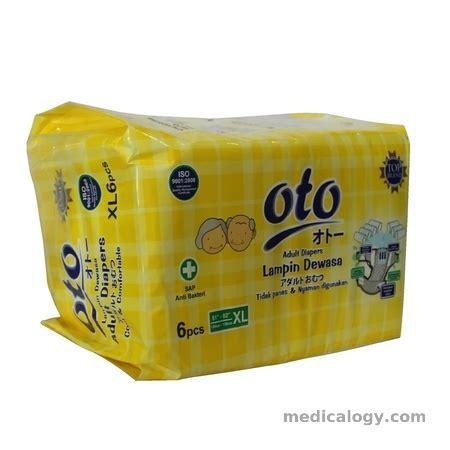 Oto Premium Diapers Xl 6 Rajasusu jual oto pers size xl isi 6 murah